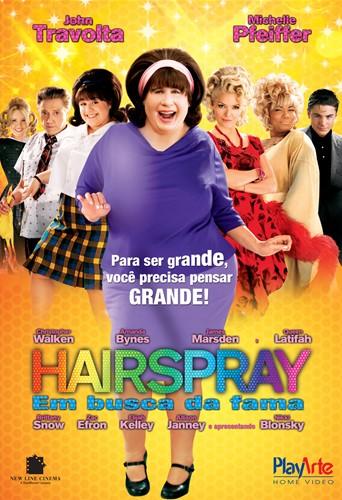 Capa Hairspray, em Busca da Fama Torrent 720p 1080p 4k Dublado Baixar