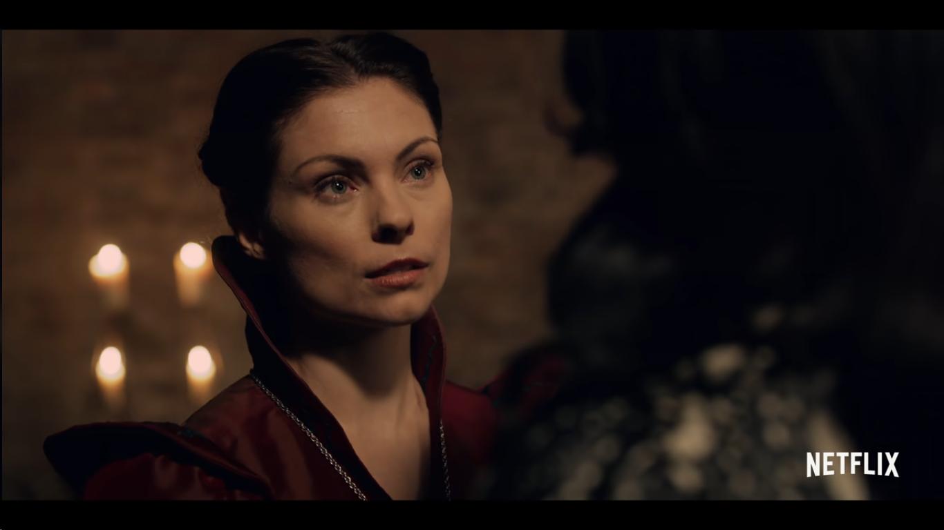 Tissaia - The Witcher on Netflix