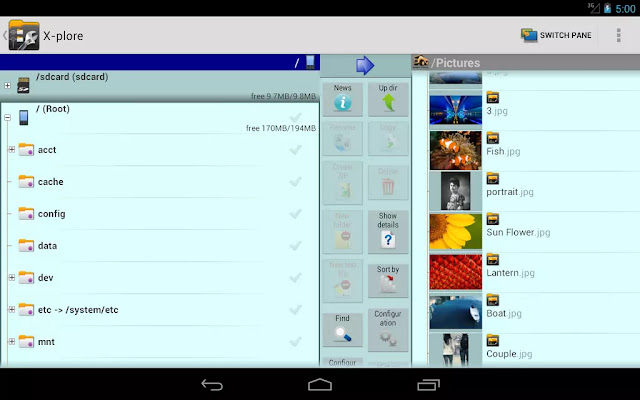 X-plore File Manager Donate Apk