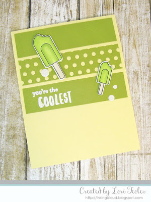 You're the Coolest card-designed by Lori Tecler/Inking Aloud-stamps from Pattern Happy