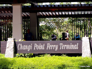 Embarcadero de Changui Point. SINGAPUR