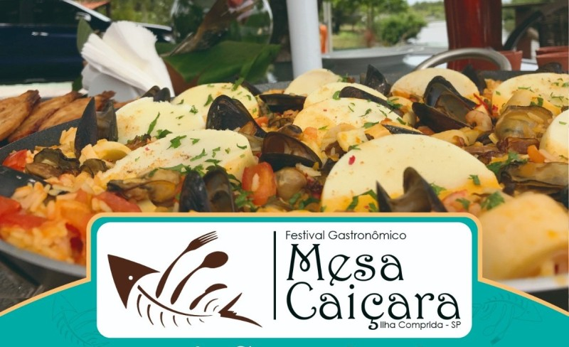 Com inscrições on line abertas, Festival Gastronômico Mesa Caiçara 2020 será entre os dias 9/10 e 8/11