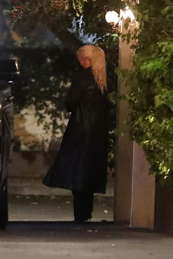 Christina Aguilera  Clicks at Ysabel Restaurant in West Hollywood  19 Nov-2020