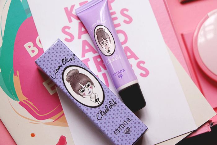 Vani Sagita Emina Cosmetics Cheeklit Cream Blush