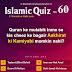 Islamic Quiz 60