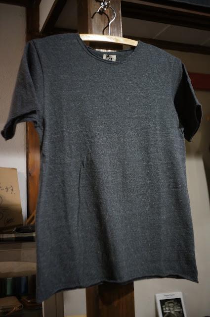 LOOP&WEFT LRC1032 リバイバル杢天竺半袖カットオフTシャツ