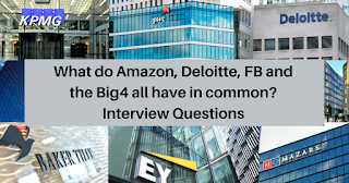 What do Amazon, Deloitte, FB and the Big4 all have in common?