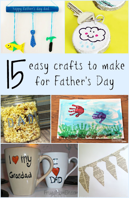 15 easy crafts to make for Father's Day