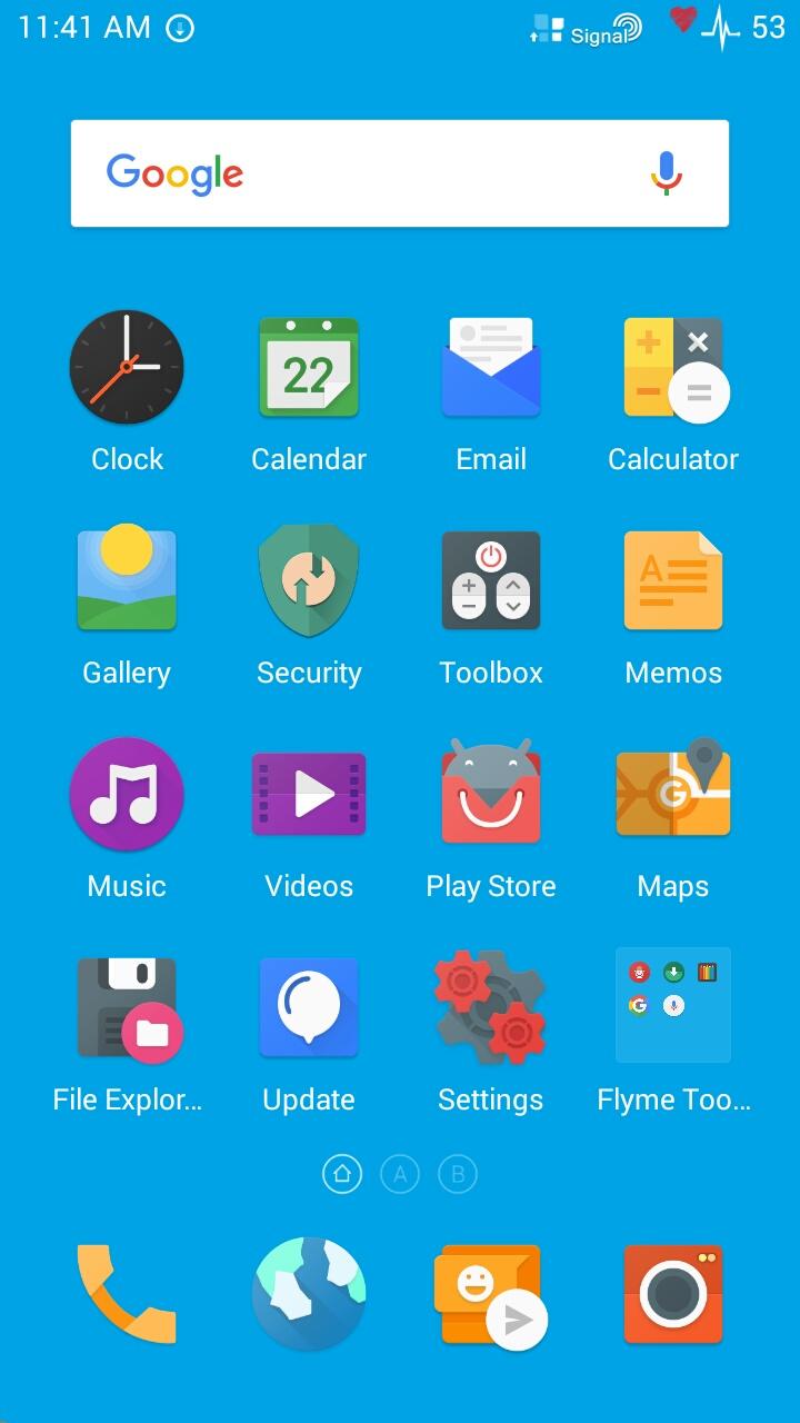 Flyme 5 1 6 0G} Guides,Screenshots,download links,Changelogs