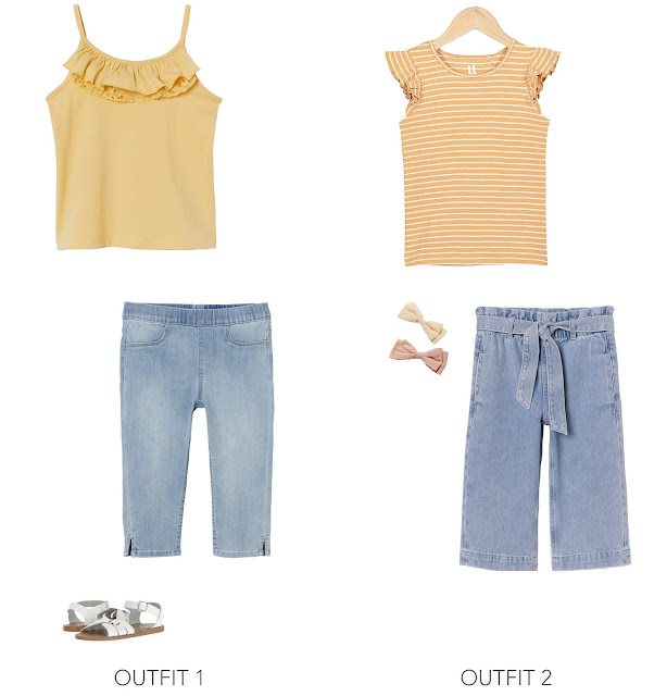 kids spring outfit ideas for girls