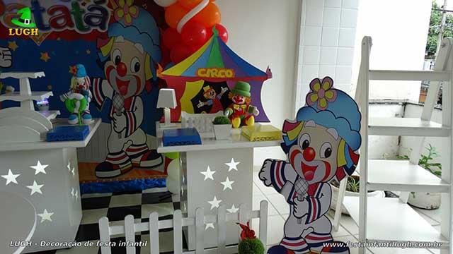 Festa tema Patatí Patatá - Mesa decorada de aniversário infantil
