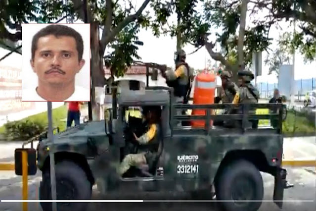 Sicarios de El Mencho atacan a policías en Jalisco y 3 terminan muriendo y los que no huyendo en un Mini Cooper