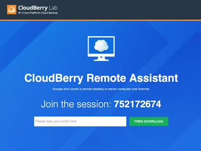 CloudBerry RemoteAssistant