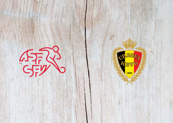 Switzerland vs Belgium Full Match & Highlights 18 November 2018