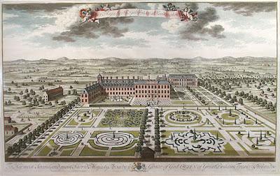 Kensington palace parterres