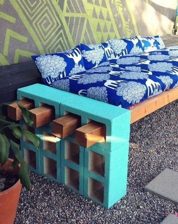 Concrete blocks for exterior decorating | lasthomedecor.com 10