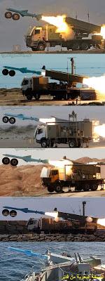 iran anti ship missiles Noor Qader Qadeer