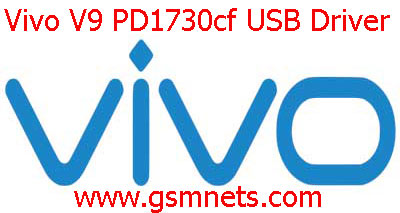 Vivo V9 PD1730cf USB Driver Download
