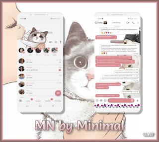 Cat Cute Theme For YOWhatsApp & Fouad WhatsApp By CMF
