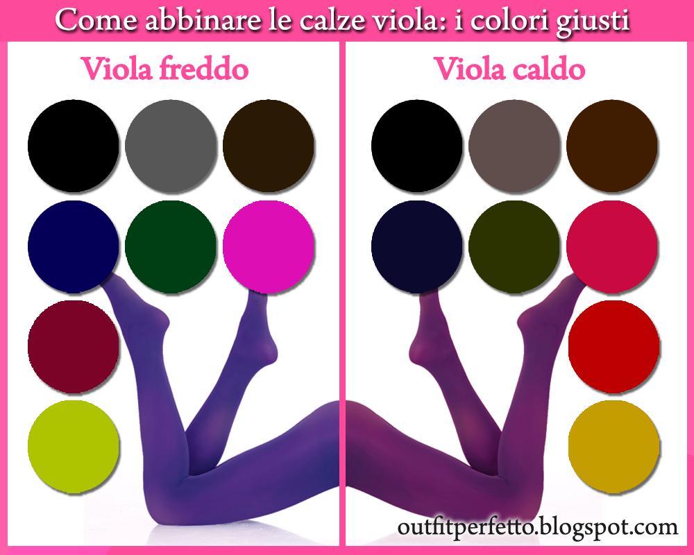 Come Creare Il Viola outfit perfetto: come abbinare le calze viola (outfit