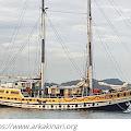 Kapal Arka Kinari Tiba di Selayar Besok,  Bergabung Meriahkan Green Gold Festival
