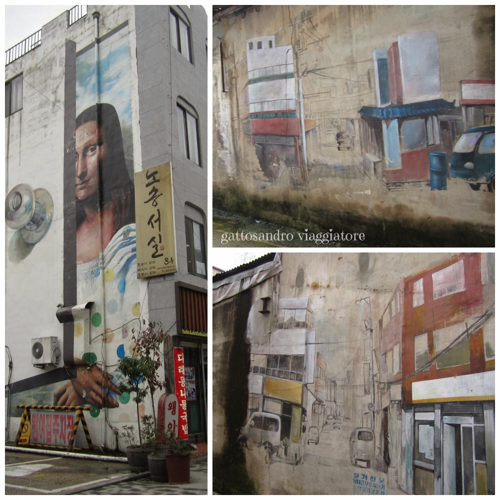 Jeonju Dongmun Art Street