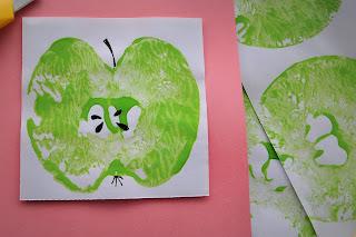 Teacher's apple last minute card