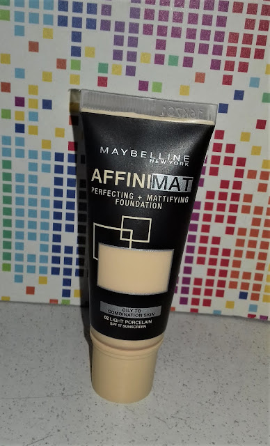 Maybelline affinimat  podkład matujący do twarzy