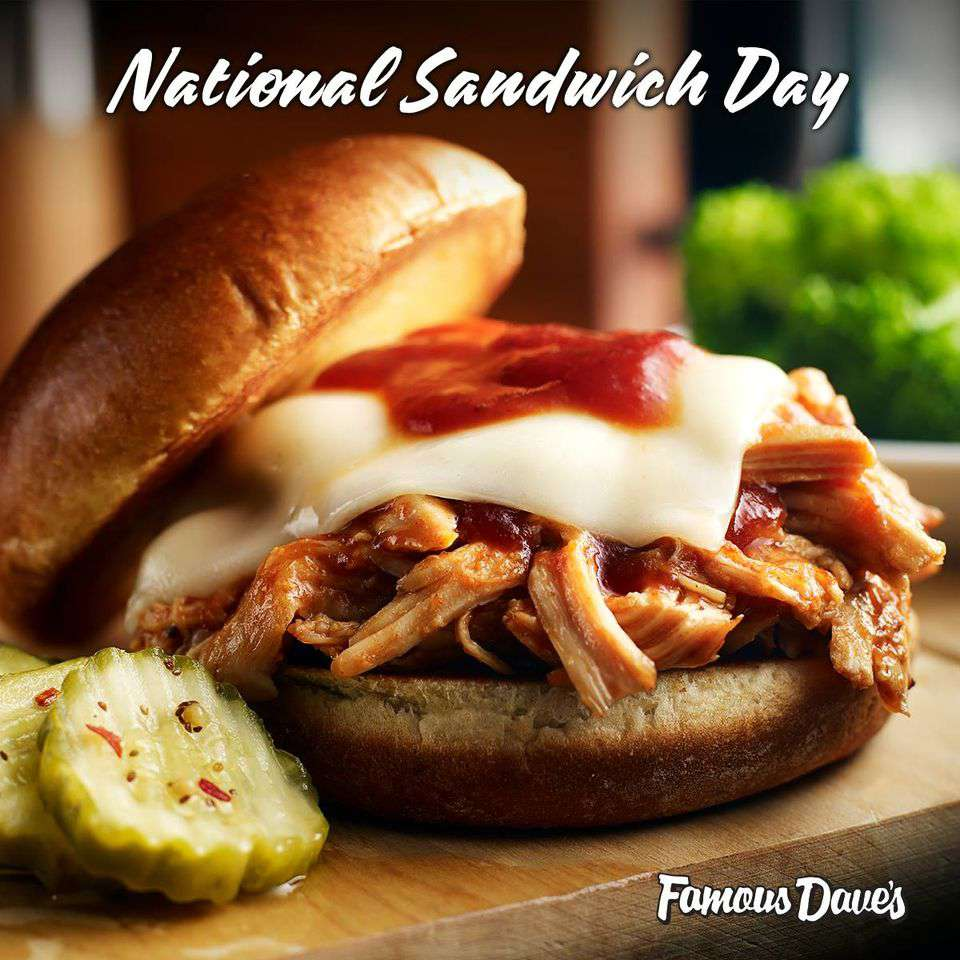National Sandwich Day Wishes Beautiful Image
