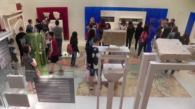 Επισκέψεις μαθητών του Έβρου και της Ξάνθης σε πολιτιστικούς χώρους της Περιφέρειας