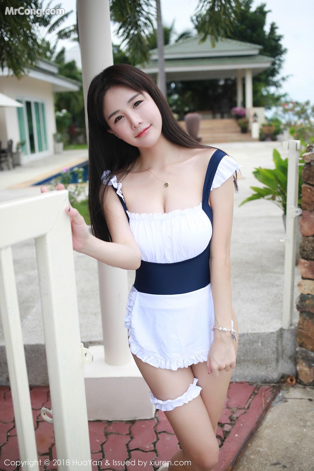 Image HuaYan-Vol.057-Xiao-Mo-Lin-MrCong.com-017 in post HuaYan Vol.057: Người mẫu Xiao Mo Lin (小沫琳) (41 ảnh)