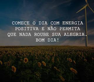 Comece o dia com energia positiva