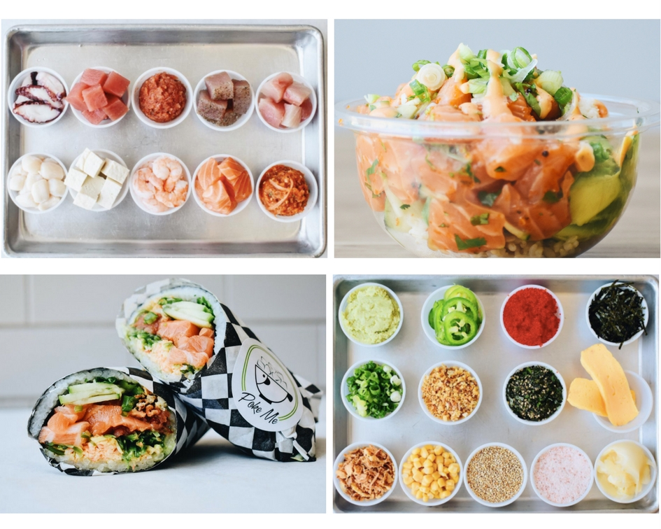 Nov. 17 | Poke Me Opens 5th Location In Irvine - Free Poke Burritos and Swag