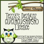 CU License Tezza's Dezignz
