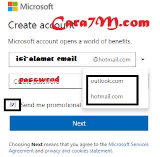 Bagaimana Cara Membuat Email Hotmail Terbaru Lengkap Dengan Gambar