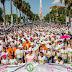 Caminantes por la Vida un mar de pasos por la lucha contra el cáncer