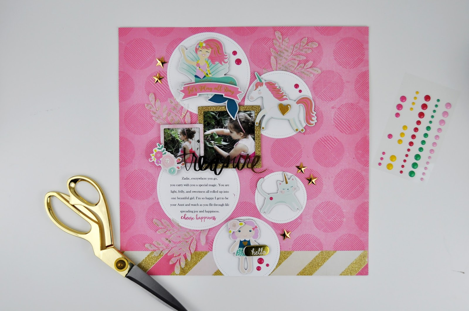 Memories Made #63: Scrapbooking Process video with www.jengallacher.com #scrapbooker #jengallacher #scrapbooking