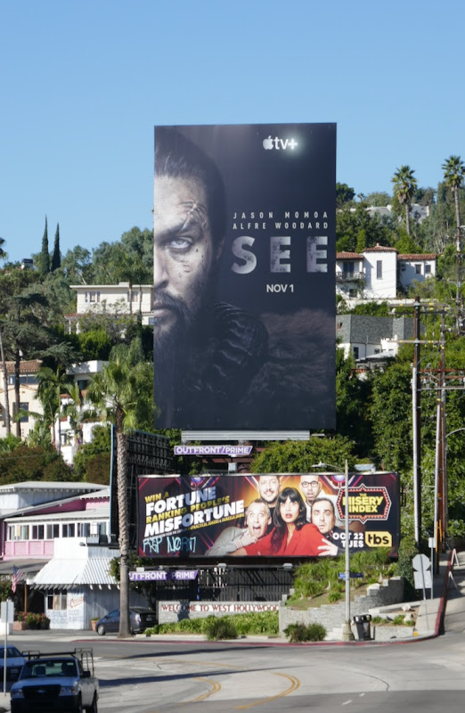 Jason Momoa See Apple TV+ billboard