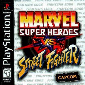 Baixar Marvel Super Heroes vs. Street Fighter (1997) PS1