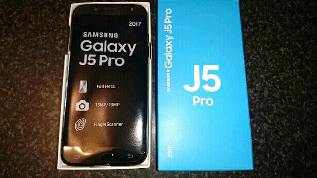 Cara mengambil screenshot di Samsung Galaxy J5 Pro