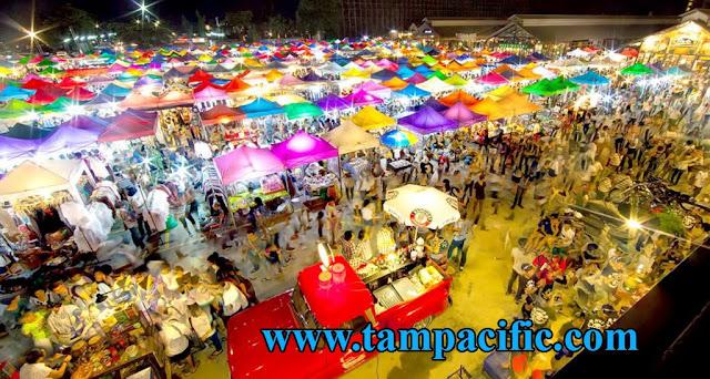 Chia sẻ những khu chợ đêm nổi tiếng tại Bangkok Thái Lan cho bạn