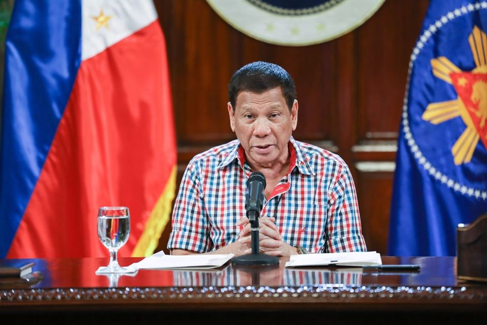 Duterte addresses the nation May 12 on ECQ fate