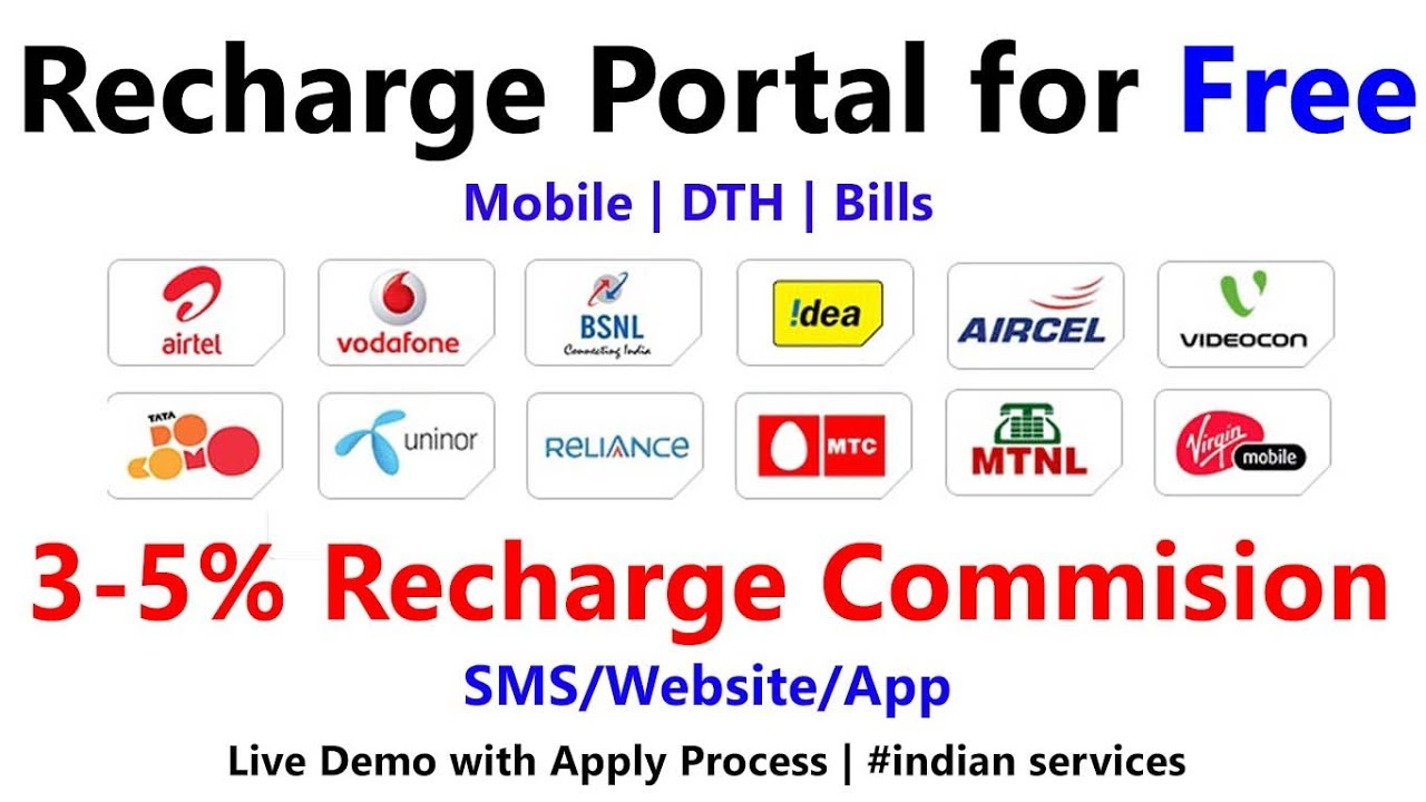High Commission Mobile Recharge App in India   Jio Flat 6% Commission