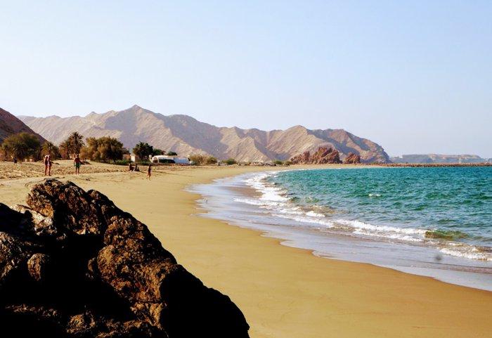 أفضل شواطئ سلطنة عمان