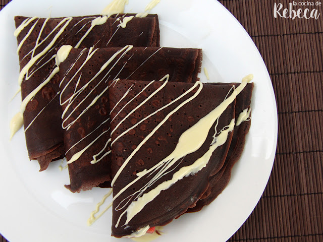 Crêpes de chocolate
