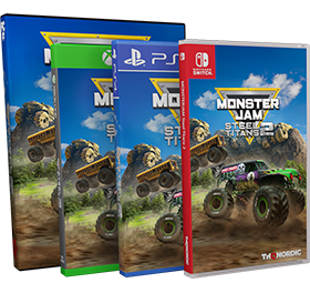 Monster Jam Steel Titans 2 Xbox One & PC Covers