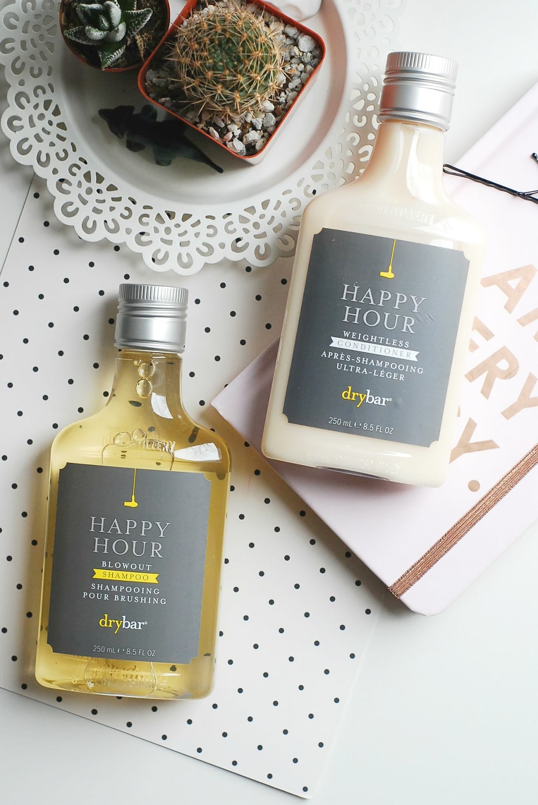 Drybar Happy Hour shampoo and conditioner review