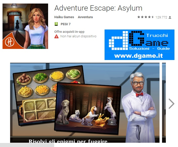 Soluzioni Adventure Escape: Asylum di tutti i livelli | Walkthrough guide