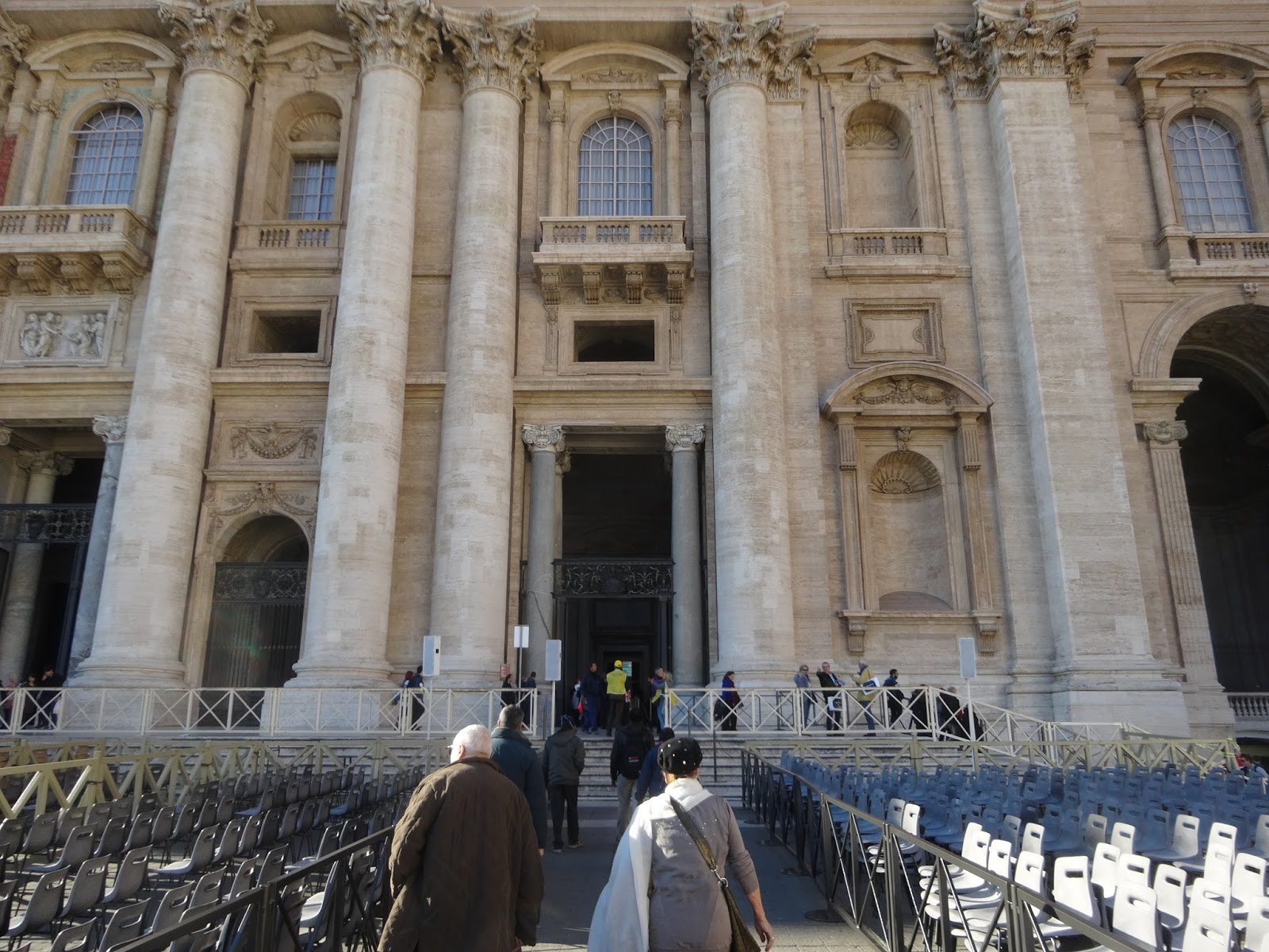 Once you ascend the steps you are free to either go directly to the Holy Door or to linger around a bit outside. I went immediately inside the narthex and ... & Servant and Steward: Crossing through the Holy Doors with Peter and ...