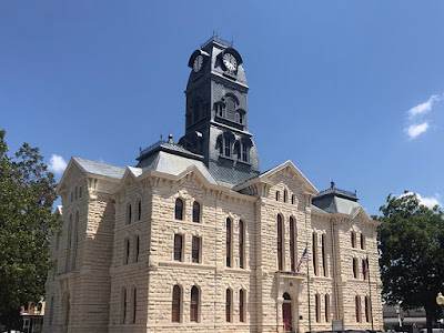 The Historic Hood County Courthouse Was Built in 1890-1891